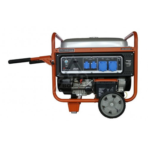 Бензиновый генератор...